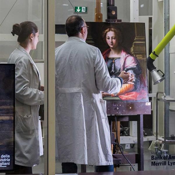 Il restauro trasparente - Incontro con i restauratori della Pinacoteca di Brera