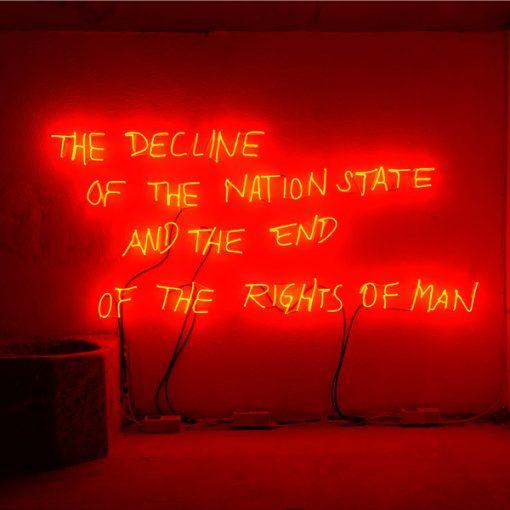Installazione di Margherita Moscardini. In the light of