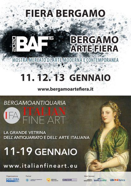 Italian Fine Art e Bergamo Arte Fiera - Edizione 2020