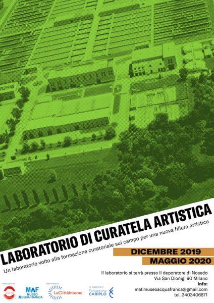 Laboratorio di curatela artistica - Formazione curatoriale sul campo per una nuova filiera artistica
