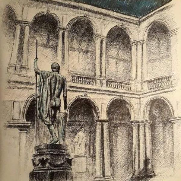 Roberto Di Costanzo. Carnet de voyage Roma - Milano - Parigi