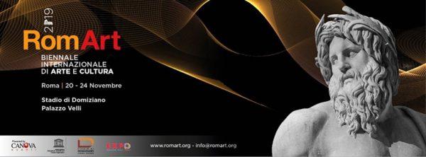 RomArt 2019 - Biennale Internazionale di Arte e Cultura