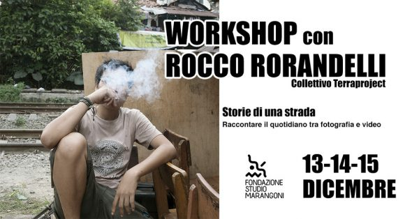 Storie di una strada - Raccontare il quotidiano tra fotografia e video. Workshop con Rocco Rorandelli