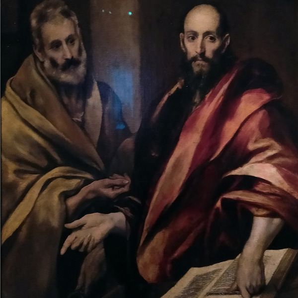 El Greco. Santi Pietro e Paolo