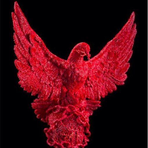 Jan Fabre a Napoli - Installazione permanente di quattro sculture in corallo rosso