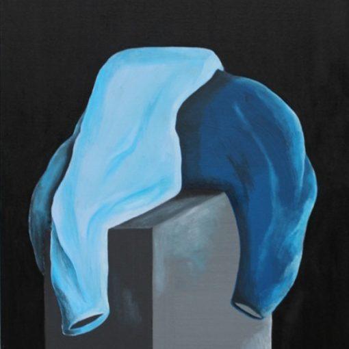 Matteo Giannerini - Matteo Messori. Alchemy in blue. A dialogue around the form