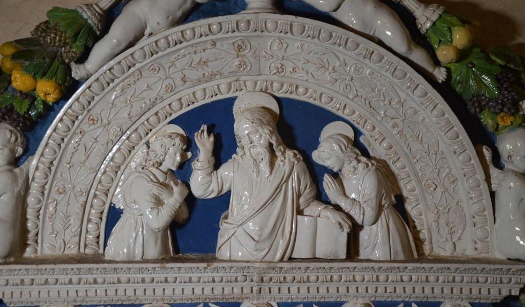Restaurato il Tabernacolo Eucaristico di Andrea della Robbia