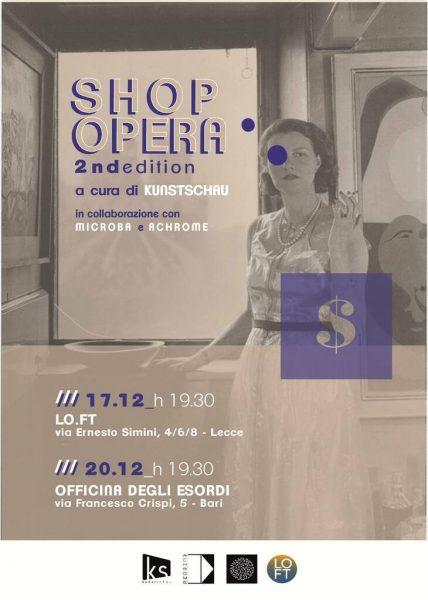 Shop Opera - Serate evento per sostenere il micro-collezionismo