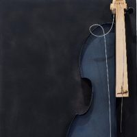Anghì. Chiavi di violino, accordi su legno