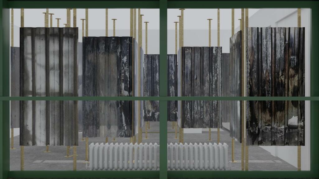 Gli scarti urbani di Pietralata trasformati in installazione artistiche
