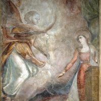 Il Tabernacolo restaurato di Piazza San Felice a Firenze mostra di nuovo il suo affresco