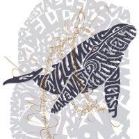Nicolò Visioli e Daniele Tozzi. Whale Up! - Esposizione e live calligraphy performance