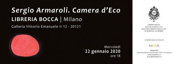 """Presentazione: """"Camera d'eco"""" di Sergio Armaroli"""