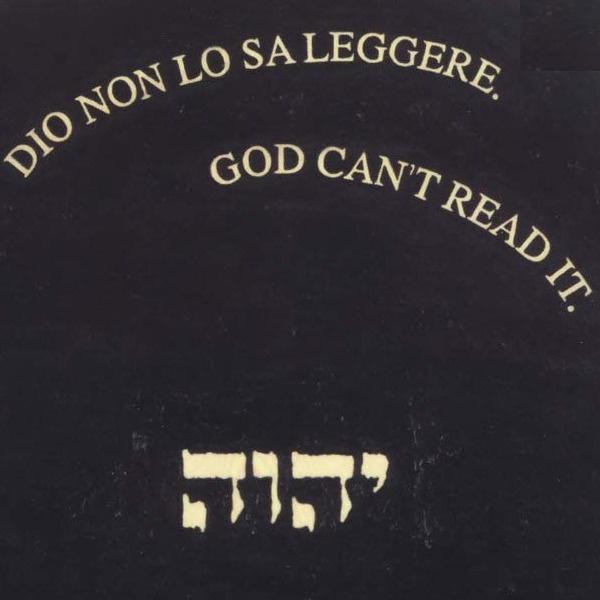"""Presentazione: """"Quel che resta di Dio"""" di Emilio Isgrò"""