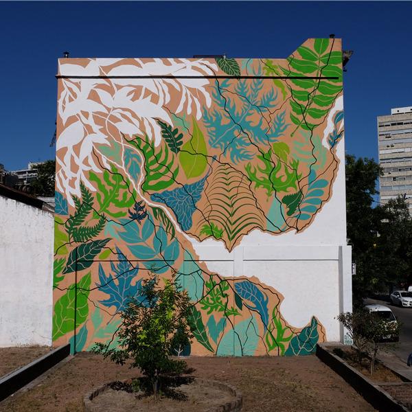 Ragioni / Regioni, il murale di Gola Hundun per denunciare le condizioni del Rio Plata
