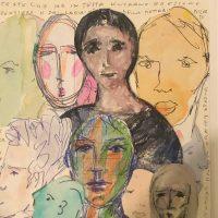Simone Mereu. Labirinti di volti