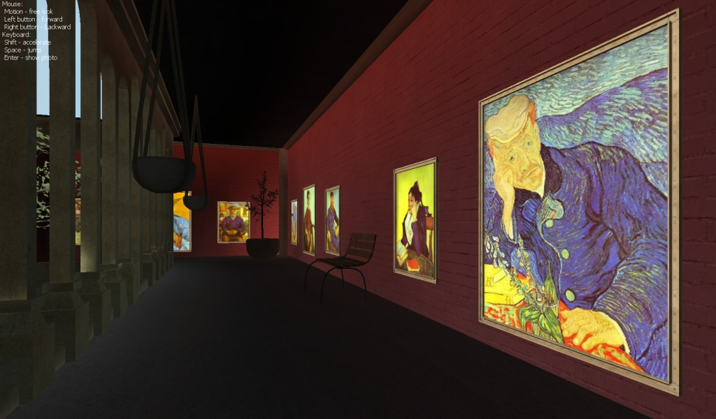 Expo 3d: Vincent Van Gogh - Mostra interattiva tridimensionale