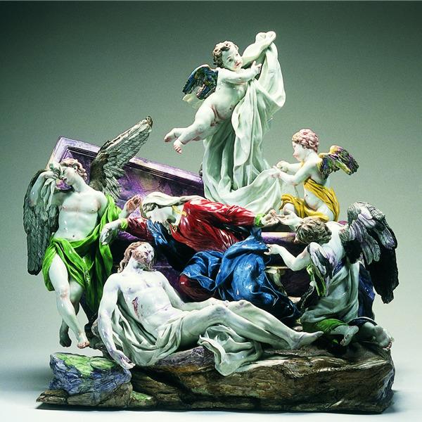 La Pietà di Massimiliano Soldani Benzi