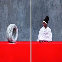 Maïmouna Guerresi. Rubber Tire, First Lesson - Opera Viva Barriera di Milano