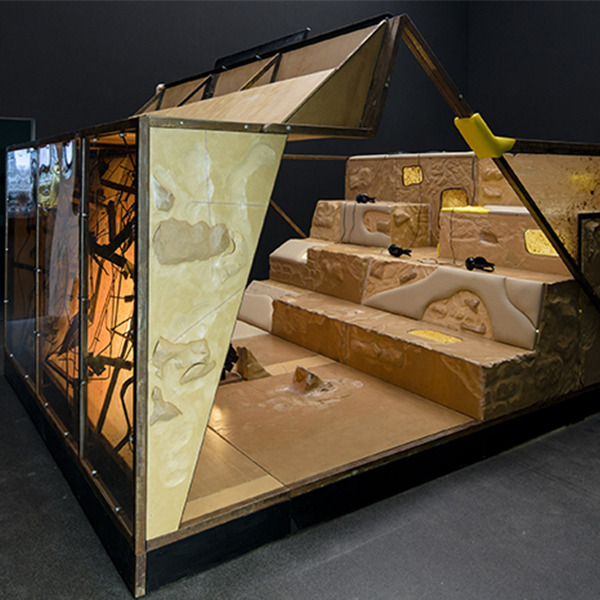 Neïl Beloufa - Mostra personale