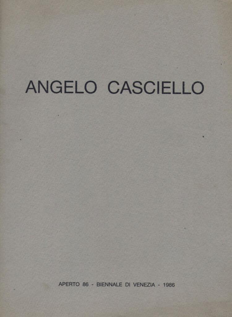 Angelo Casciello. Musica segnica guizza nelle vene del mio corpo