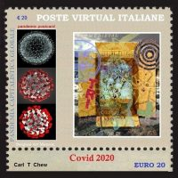 Artistamps - Interfolio all'Encyclopedie Covid-19 - Mostra collettiva online