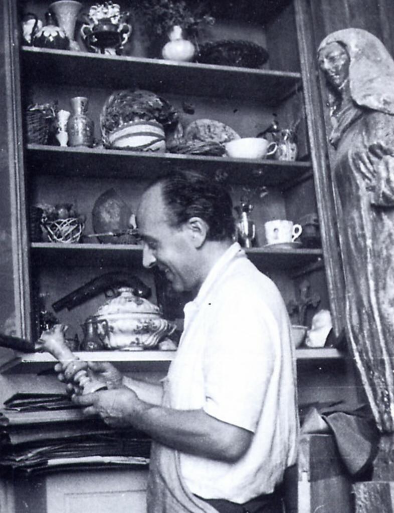 Bruno Saetti - Le opere ad olio e affresco