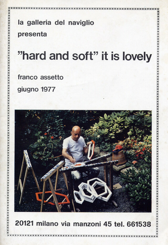 Franco Assetto. Hard and soft it is lovely