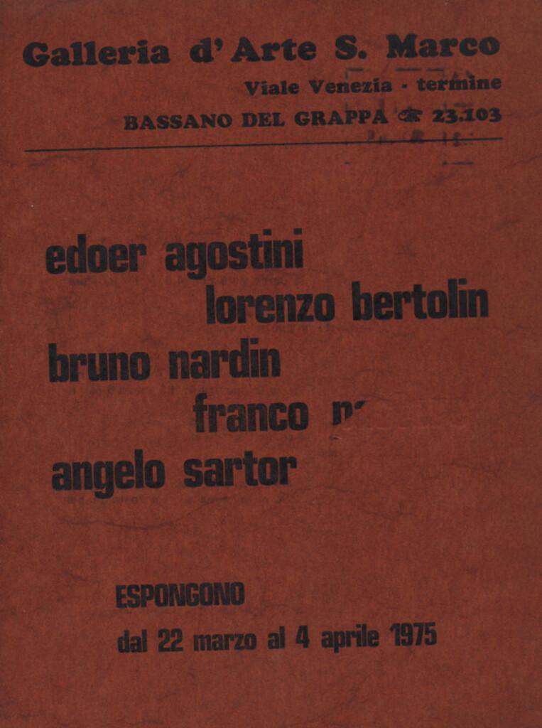 Gruppo SM 5 - Agostini, Bertolin, Nardin, Pastore, Sartor