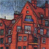 Pitture di Karl Strnad Goldammer