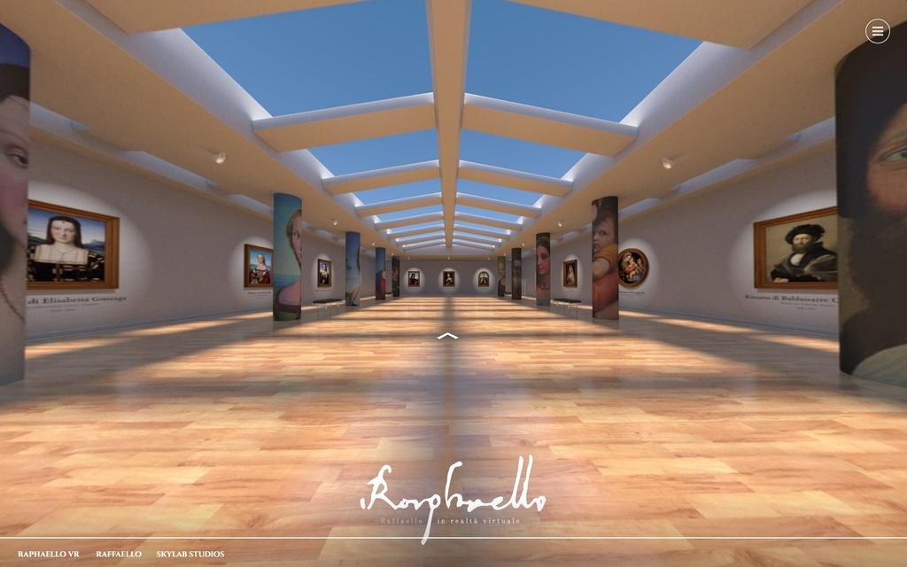 Raphaello VR: il museo realizzato in realtà virtuale e in realtà aumentata
