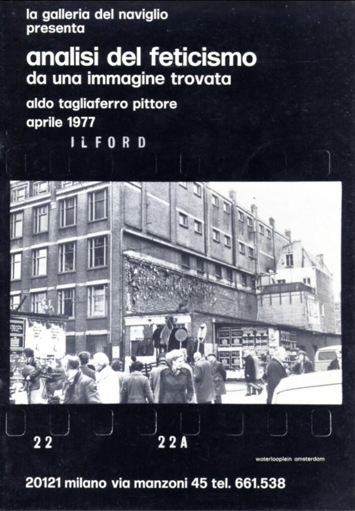 Aldo Tagliaferro. Analisi del feticismo da una immagine trovata