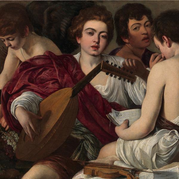 """Caravaggio in Bergamo: """"I musici"""", capolavoro del Merisi, in mostra all'Accademia Carrara"""
