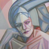 Geometrie dell'anima - Sculture di Maria Luisa Ritorno, quadri di Marian Comotti
