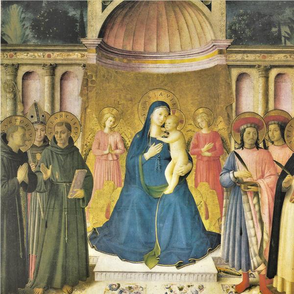 Il Museo di San Marco restaura la Pala di Bosco ai Frati del Beato Angelico