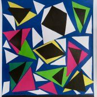 Joie de vivre. Henri Matisse - Papier gouache-découpé 1947-1954