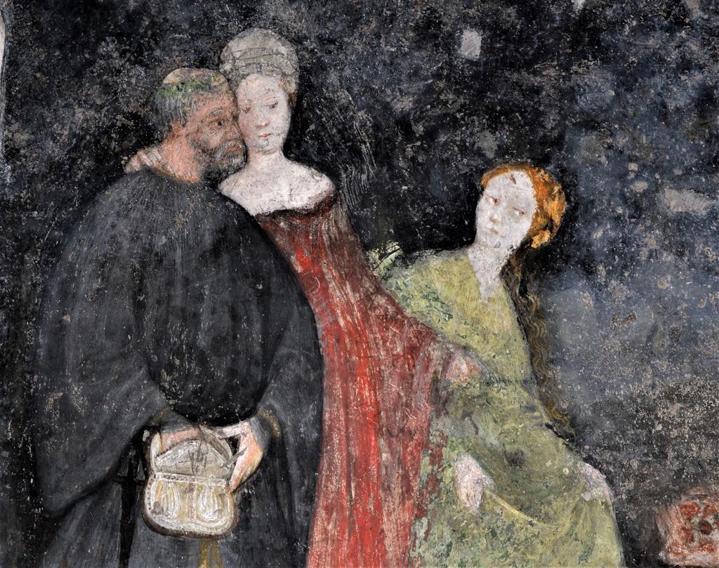 Le sale mai viste della Torre Aquila al Castello del Buonconsiglio