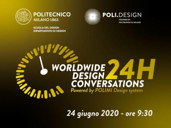 24h worldwide design conversations - Diretta online