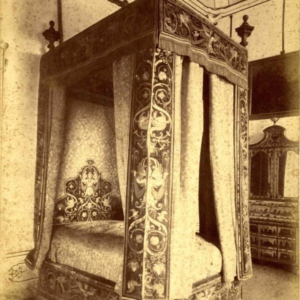 I tesori di Villa Arconati: il letto di Raffaello