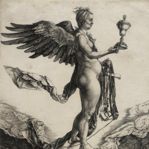 """Presentazione dell'opera la """"Nemesi"""" di Albrecht Dürer"""