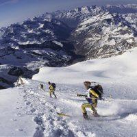 Il Monte Rosa: ricerca fotografica e scientifica - L'Adieu des glaciers