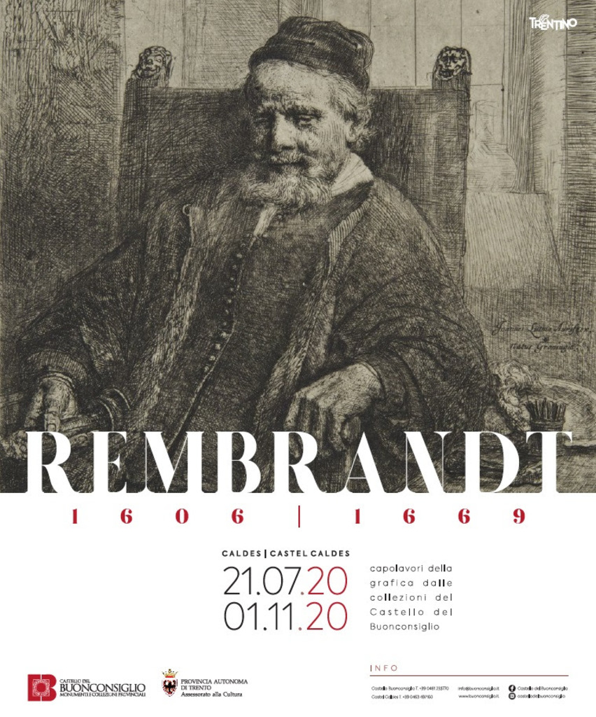 Le stampe di Rembrandt a Castel Caldes