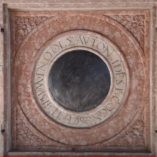 Lo specchio lapideo del Castello del Buonconsiglio