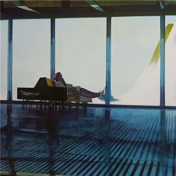 Piero Guccione a Roma - Attese di partire, 1969-1970