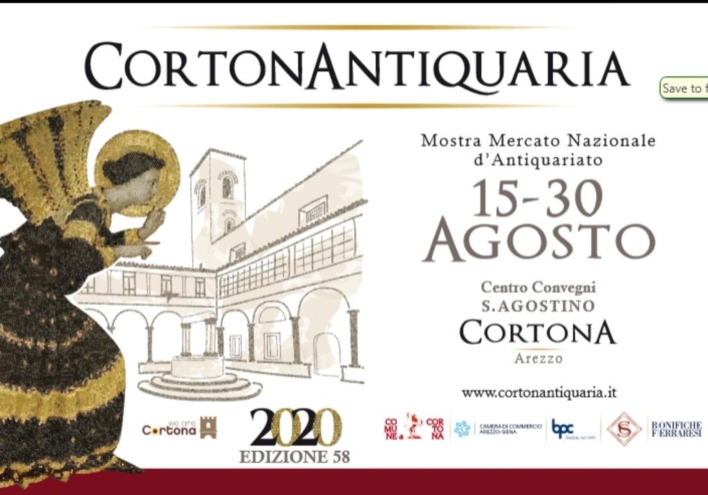 Cortonantiquaria 2020. Mostra mercato d'antiquariato - 58° edizione