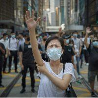 Kiran Ridley. Hong Kong democracy protests - Siena Awards 2020