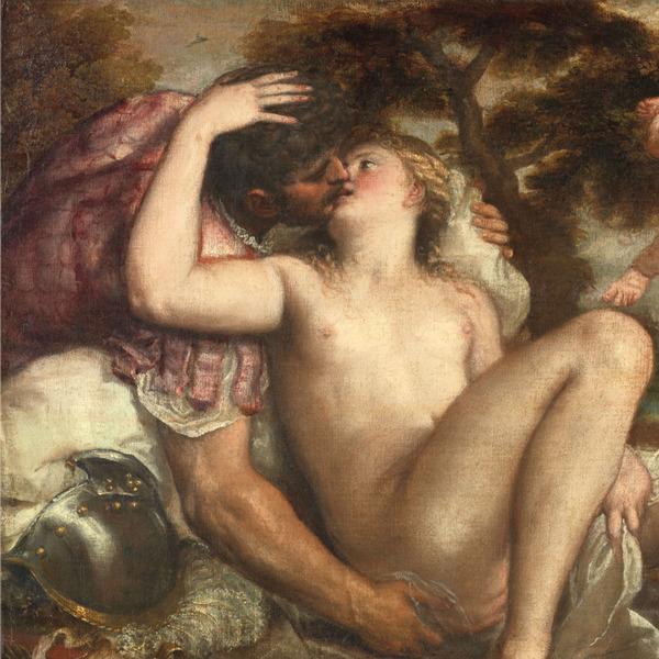 Tiziano in Bergamo: Marte, Venere e Amore