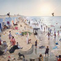 Athos Burez. James Ensor recomposed - La rivisitazione dei Bagni di Ostenda