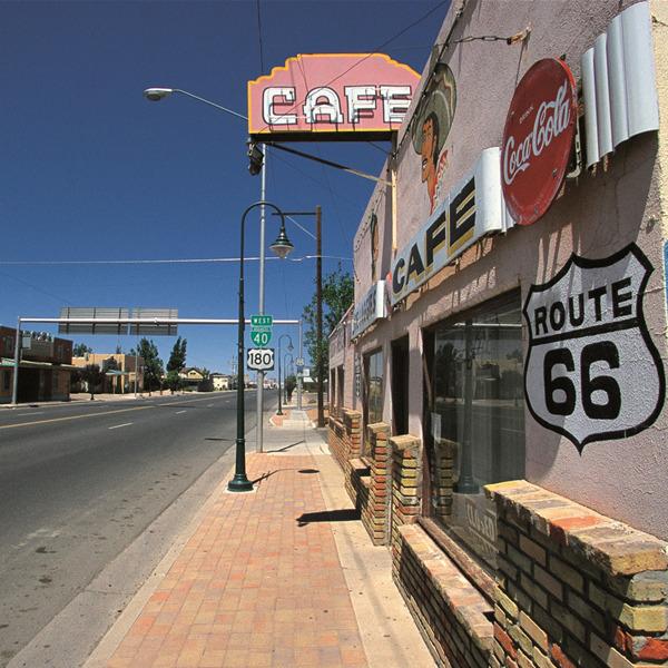 Franco Fontana. Route 66