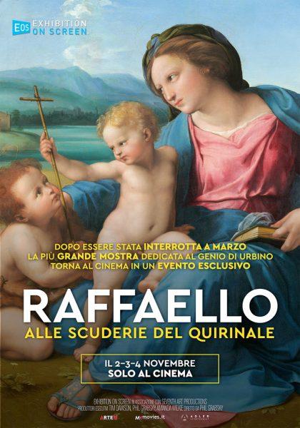 """L'Arte al Cinema: """"Raffaello alle Scuderie del Quirinale"""""""